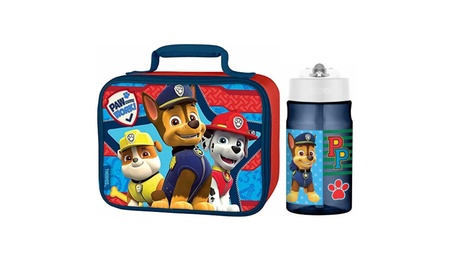 Thermos Paw Patrol 12 Oz Water Bottle w/ Soft Lunch Bag c4004f94-4278-42b9-90c9-43db5abf2424