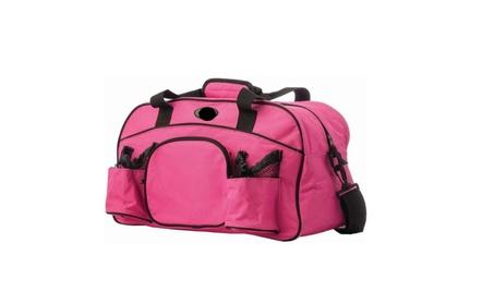Pink Tote Bag Sports Duffle Bag Workout Gym Bag Yoga Bag Carry On