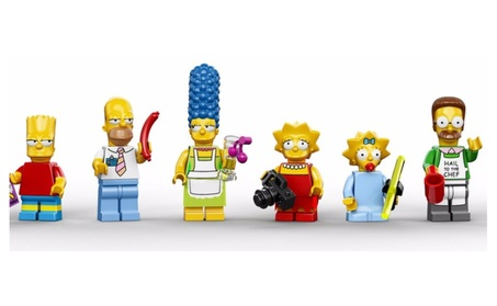 Simpsons 8 character Mini figures Set c01363ab-c10b-4f66-bd0a-4f619a3dfc6c