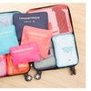 9pc Waterproof Travel Organizers Cubes and Bags For Luggage Storage
