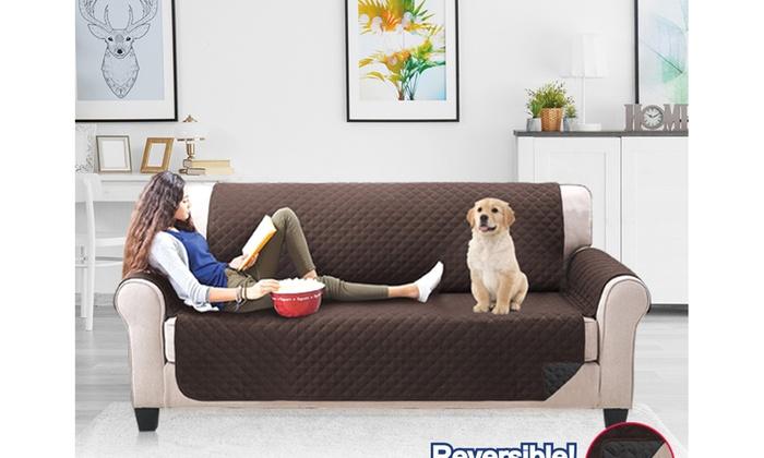 Premium Quilted Pet Furniture Cover Pet Sofa Couch Cover Anti Slip