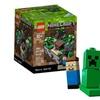 LEGO CUUSOO Minecraft Micro World: The First Night 21102 Steve Creeper