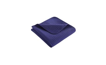 HollyHOME Luxury Checkered Single Bed Quilt Bedspread 2f0ef221-6de2-4e21-b13d-1e256ce20a6c
