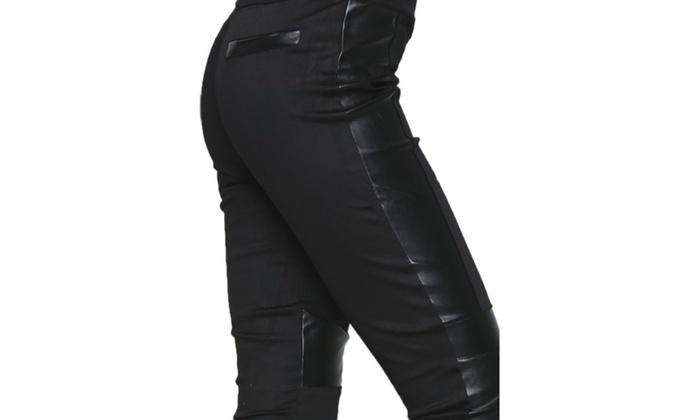 Ladys Fashion Palladium w//Rhinestones Leg Wear