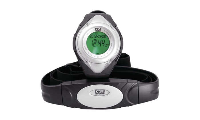 Pyle Heart Rate Monitor Watch With Heart Rate (silver)