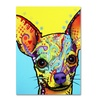 Dean Russo 'Chihuahua' Canvas Art