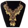 Vintage Big Beads Collar Choker Punk Maxi Statement Women's Necklace