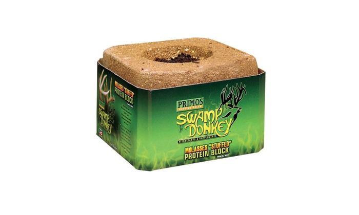 Primos Swamp Donkey 15lb Molasses Stuffed Protein Block