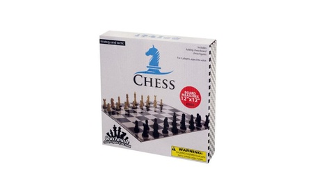 Bulk Buys Folding Chess Game - Pack Of 10 c0334587-779a-4d7b-b812-b612af3f8c9a