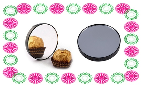 Compact 10x Magnifying Mirror Ideal For Applying Make-Up d403fa26-c615-487d-92b0-49505260dc7a