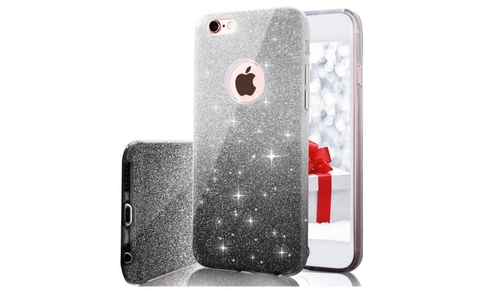 more photos 27040 64cdc iPhone 7 Plus Case, Luxury Glitter Sparkle Bling Designer Case | Groupon