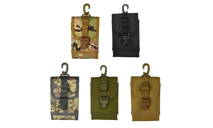 Military army Small multifunction hanging bags accessories pockets