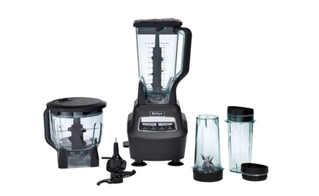 Ninja Mega Kitchen System Blender 1500 Watt in Black 6cf5b37b-d056-440f-97a4-b52366b9b2a3
