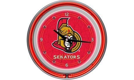 Ottawa Senators Neon Clock 7b9dd3f3-c88c-4663-8766-c24551180e25