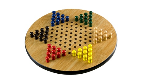 Sunny Wood Sterling Games Chinese Checkers 293e2d99-2d3c-4515-983d-2f2ee6fba27c