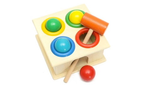 Kids Children Wooden Knock Hammering Ball Early Learning Education 02fc0c34-e187-43f6-bc6d-0f85aa2d31ad
