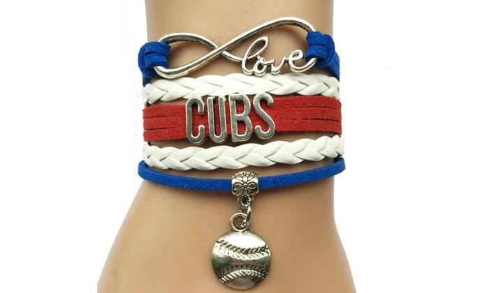 Chicago Cubs Mlb Bracelet
