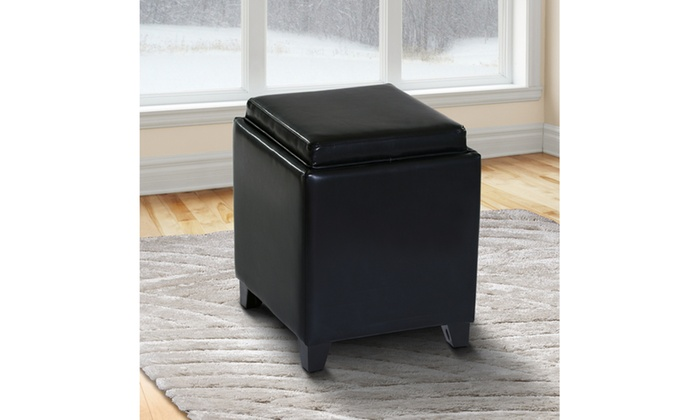 Charmant ARMEN LIVING Rainbow Contemporary Storage Ottoman ...