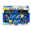 Kole Imports Toy Jet Fighter Planes With Launch Pads Set - Pack Of 4