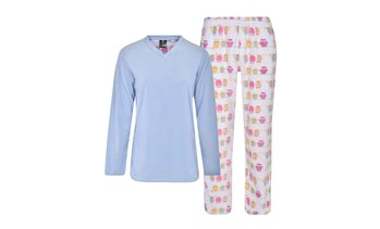 Donna L'oren Women's Fleece Pajamas Set (Plus Size Available)