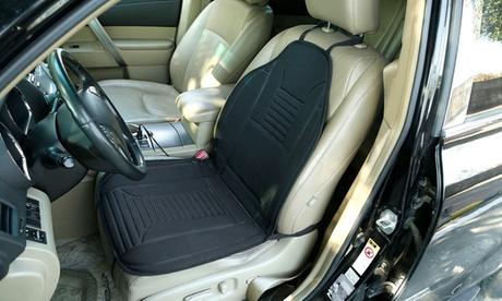 LakeForest Heated Seat Cushion, Auto Seat Heating Pad, Adjustable Heat, 12V