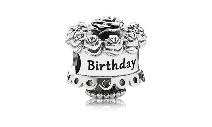 Super Pandora Birthday Cake Charm 791289 Groupon Birthday Cards Printable Opercafe Filternl