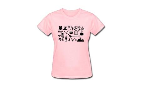 Women's Harry Potter Icon Hogwarts Quidditch T-Shirt f3df4f52-e08f-4184-81ef-8634cfa2e386