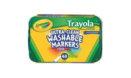 Crayola Trayola Washable Markers (pack of 48) 3cb5360d-c820-423f-a5aa-78bd31003dbd