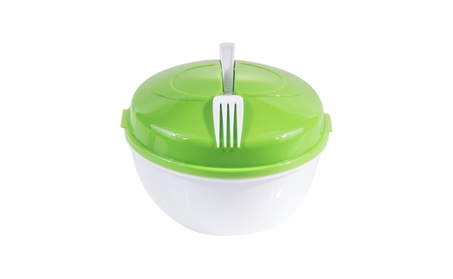 Innova Imports Salad To-Go Container With Locking Lid Tabs 8706fe6c-4dfb-4585-b8dc-19d3f07ef72f