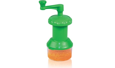 Baby Food Mill with 1-Cup Reusable Container, Prepare Puree Baby Food On-the-Go