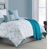 Ellen Tracy Print Reversible Comforter Set (6-Piece)