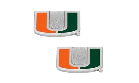 Miami Hurricanes Post Stud Earring NCAA Charm Set e5d2bcbb-4960-4f20-96ac-46802ec9db9b