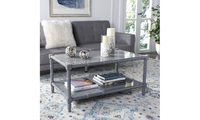 Safavieh Noam Modern Coastal Coffee Table, COF3500C | Groupon