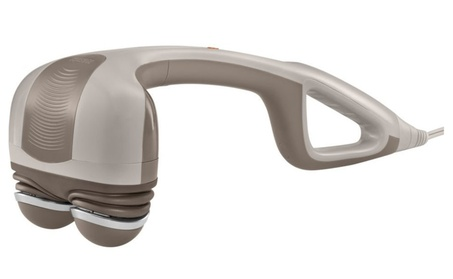Amazing Percission Action Handheld Massager With Heat Soothing Heat ea214a0e-45c6-4d22-a864-61ca86d9f732