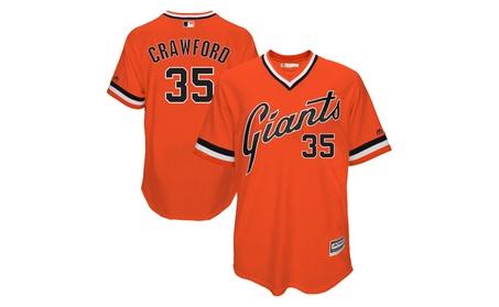 Mens Giants Brandon Crawford Orange 1978 Turn Back The Clock Jersey c582ccfa-325c-4c66-8d0b-ba938e421903