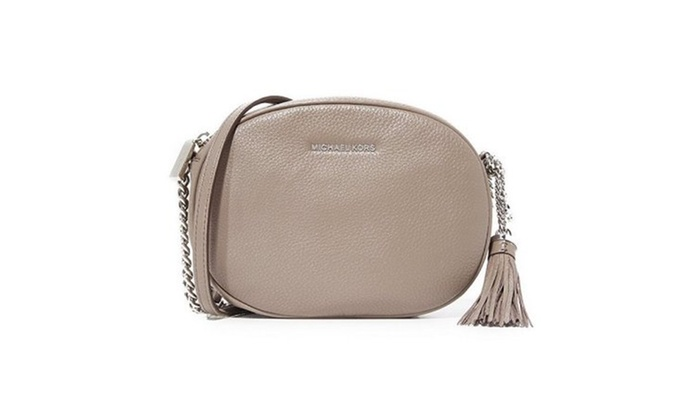 c5c2e9df952293 Michael Kors Ginny Medium Leather Crossbody Bag Cinder 30h6sgnm2l. Michael  Kors Cross Body ...