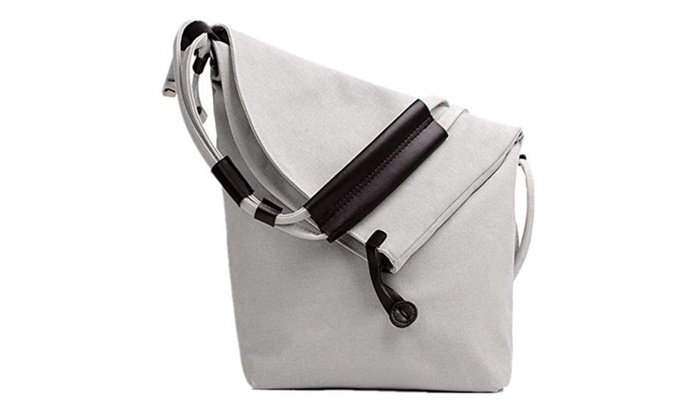 Unisex Canvas Hobo Cross Body Messenger Shoulder Handbag Tote