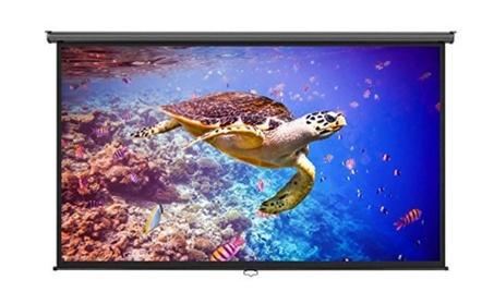 Complete Home Projector Screen & Portable Projector HD 1080P 107e9010-9617-4fa7-b855-f77389310dd2