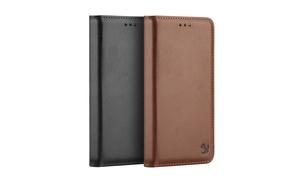 Apple Iphone 7 Luxury Gentleman Magnetic Flip Leather Wallet Case