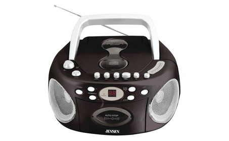 Jensen CD540 Portable Stereo Compact Disc Cassette Recorder with AM/FM b9893d32-d3e2-4b99-91ae-08f03132fce2