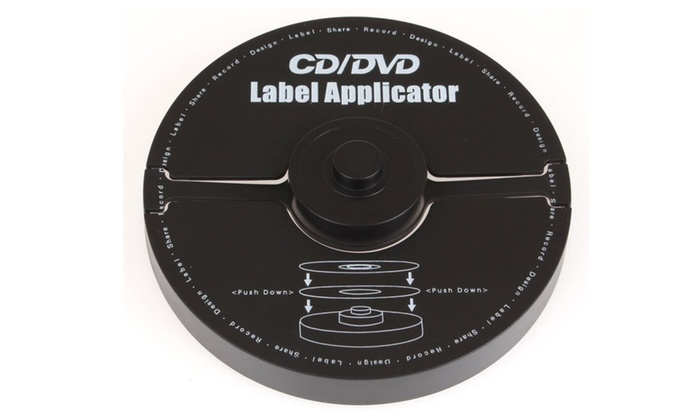 Merax Cd And Dvd Label Applicator 40mm Hole