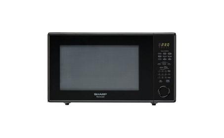 Sharp 2.2 Cu Ft Microwave, Black 863d6275-efba-42a9-8e9a-92749efcb35e