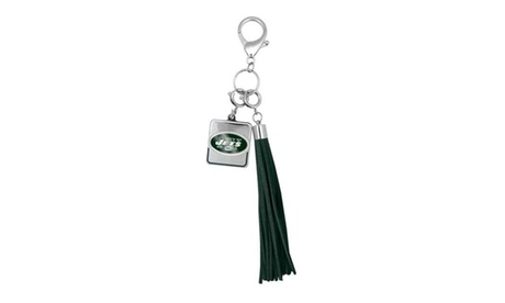 Little Earth 300431-JETS NFL Tassel Purse Charm - New York Jets (Goods Sports & Outdoors Fan Shop) photo