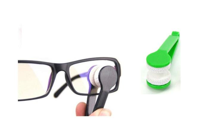 Glasses Sunglasses Fiber Cleaning Brush