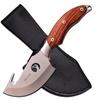 "Elk Ridge Fixed Knife 8.25"" - 3.75"" SS Blade with Gut Hook"