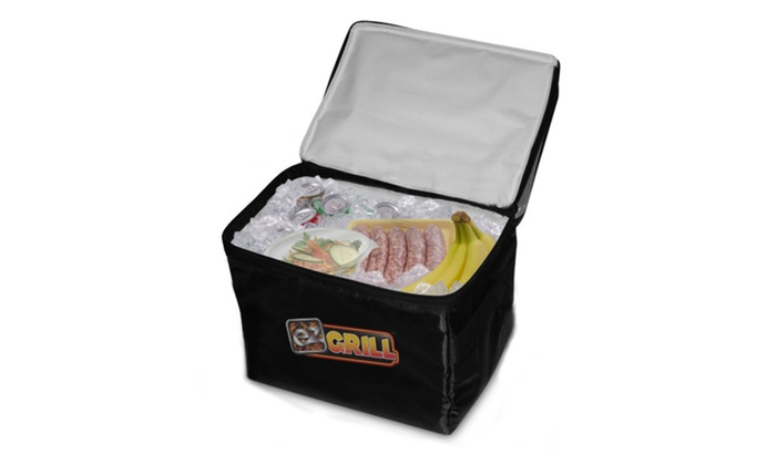 EZ Grill Large Party Size Barbeque Sporting Event Outdoor Cooler Bag
