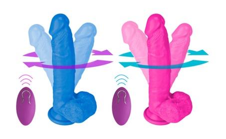 Liquid Silicone Vibrating dildo, Remote-controlled Penis Sex Toy 8448859f-4fa8-4478-a856-bd27b8d890ef