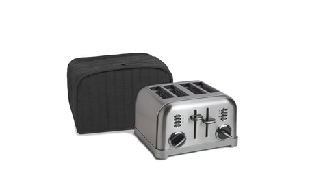 Polyester / Cotton Quilted Four Slice Toaster Appliance Cover photo
