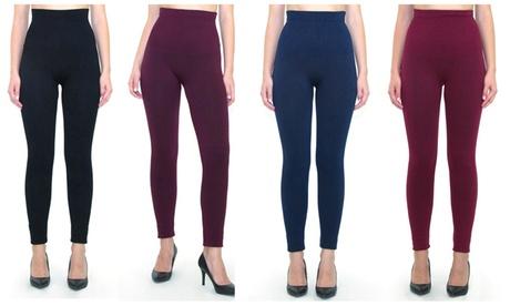 Women's Empire Waist Tummy Compression Control Top Leggings 4bf9c41f-256d-4caf-8e39-0d2619f2f678