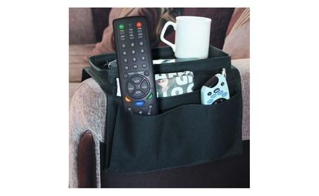 2 Piece Set: Armrest Organizer & Universal Remote Control 8233941b-54ad-476b-8325-bbc7d6c8ecf6